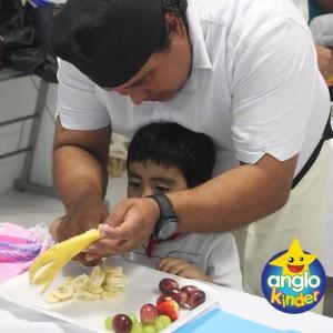 Chef por un día: Creatividad en Anglokinder - Colegio Anglo Mexicano de Coatzacoalcos Jardín de Niños - Preescolar - Chef por un día 5