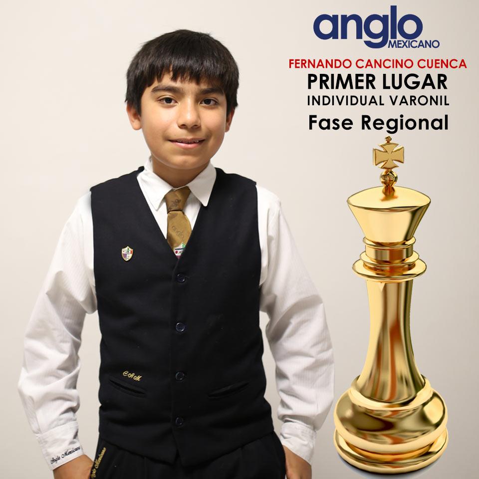 Colegio Anglo Mexicano de Coatzacoalcos - Primer lugar en ajedrez pre-estatal