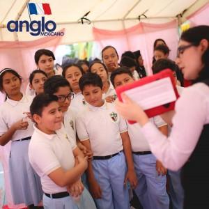 Colegio Anglo Mexicano de Coatzacoalcos - Semana de la Francofonía 2016 - Semana de la Cultura Francesa, feria de francofonia anglomexicano 1
