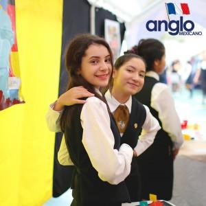 Colegio Anglo Mexicano de Coatzacoalcos - Semana de la Francofonía 2016 -Semana de la Cultura Francesa, feria de francofonia anglomexicano 11