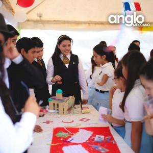 Colegio Anglo Mexicano de Coatzacoalcos - Semana de la Francofonía 2016 - Semana de la Cultura Francesa, feria de francofonia anglomexicano 13