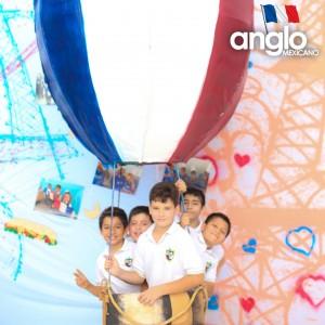 Colegio Anglo Mexicano de Coatzacoalcos - Semana de la Francofonía 2016 -Semana de la Cultura Francesa, feria de francofonia anglomexicano 3