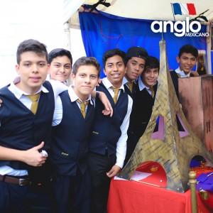 Colegio Anglo Mexicano de Coatzacoalcos - Semana de la Cultura Francesa, feria de francofonia anglomexicano 4